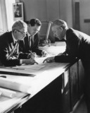 Naval architects discus plans for Q4, 21 January 1964.