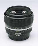Nikkor 50mm f1.2 bayonet fitting manual focus lens, c 1980.