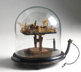 Electrostatically-operated toy, 1880-1940.