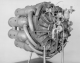 Whittle W1 Jet Propulsion Engine, 1941. 3/4