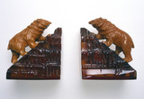 Pair of book-ends, c 1935.
