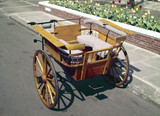 Small governes cart, early 20th century.