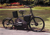 Holden's motor bicycle, 1897.