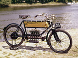 FN 3 hp four-cylinder motor cycle, 1905.