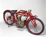 Indian motorcycle, 1911.