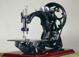 Willcox and Gibbs chain-stitch sewing machine, c 1914.