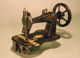 Remington Arms lock-stitch sewing machine, 'Empire' model, 1870.
