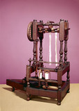 Arkwright 's prototype spinning machine, 1769.