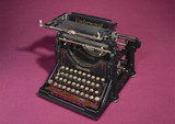 Underwood No 1 typewriter, 1897.