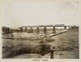 The new Nerbada Bridge, India, c 1929.
