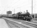 Class PO/3 4-6-0 locomotive, Rotterdam Station, Holland, 1932.
