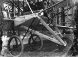 Cody aeroplane No1, undercarriage in detail, 1908.