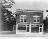 'Wright Brothers bicycle shop', shown after moving to Ford Museum, 1937.