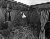 Interior of coach compartment, 22 January 1936.