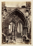 'Crowland: Crowland Abbey', c 1855.