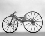 MacMillan rear-driven bicycle, c 1839.