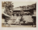The Temple of Hatchiman, Kamakura, Japan, c 1864.