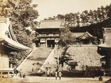 The Principal Temple in Kamakura, c.1877.