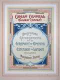 Great Central Railway Company leaflet, 1899.