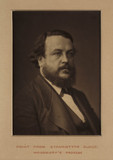 Portrait of Walter Woodbury, c. 1870.