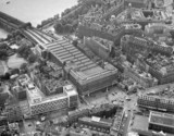 aerial view of Charing Cross Station, London, July 1962.