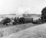 The Axminster-Lyme Regis branch train, 8 September 1959.
