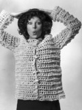 Crocheted jacket, January 1976.