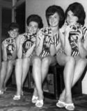Kodak girls in Blackpool, August 1963.
