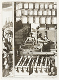 Papermaking, Germany, 1662.