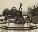 'Dancing Round the Peter Pan Statue', 1935.
