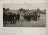 'His Majesty Inspects the HAC...', First World War, September 1914.