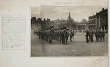 King George V inspecting the HAC, First World War, September 1914.