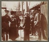 'Their Majesties' Visit to an Army Clothing Factory', First World War, 1916.