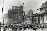 Bomb damage, Liverpool, 1940s.