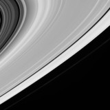 Saturn's rings, 20 July 2005.