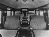 LMS carriage interior, 1927.