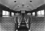 Third class carriage interior.