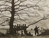 Hikers at Box Hill, 20 March 1932.