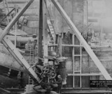 Forth Bridge Works No 62 - joint of skewback, 21 April 1886.