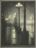 'Broadway at Night', c 1910.