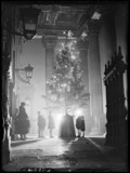 A Christmas tree for poor children, St Martin-in-the-Fields, London, 1933.