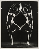 Nude study: woman reflected, 1960s.
