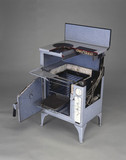 GEC 'Magnet' electric cooker, model DC435, sectioned, 1936.