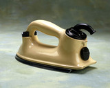 HMV 'Ceramic' electric iron, c 1936.