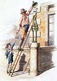 'Lamp lighter', 1805.