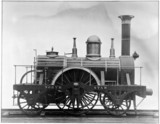 North Star locomotive, replica, 1837. Photo