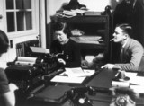 BBC News Department during WWII,'somewhere