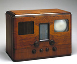 HMV television and radio receiver, model 905, 1938.