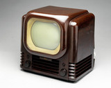 Bush television receiver, type TV22, 1950.