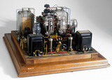 Audio amplifier for Mullard Raleigh PM broadcast receiver, 1927.